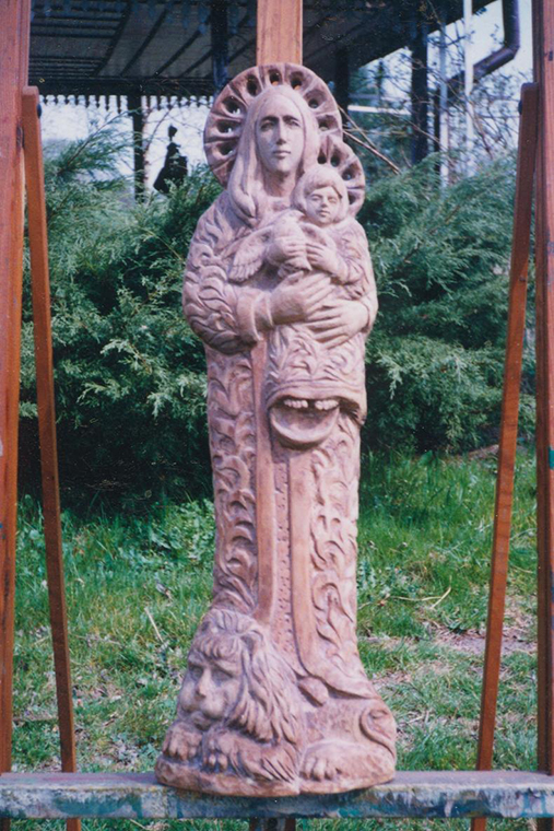 Matka Boska, rzeźba