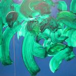Niebo, 120 cm x 120, olej na płótnie, 2015