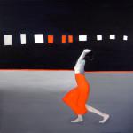 Taniec, 100 x 100, akryl, 2015