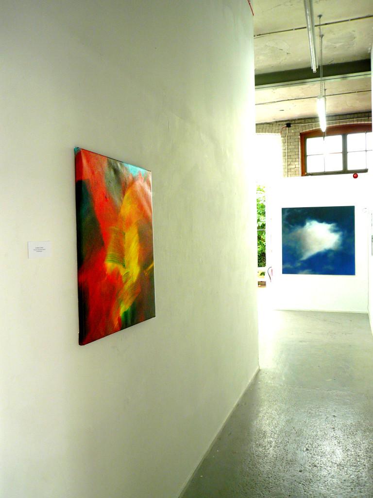 Abstrakcja, 73 cm x 60 cm, olej na płótnie, 2015