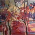 09. PLJAKIC TATJANA Lanndscape, acrylic on canvas, 50 x 70 cm, 2015