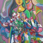 10. RADOVANOVIC GORAN First love, oil on canvas, 55 x 75cm  2015