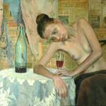Remont ,olej na płótnie,70x90,2014