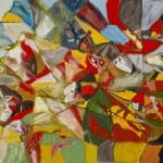 Wojciech Tut Chechliński, Armagedon, olej na płótnie, 70 x 100 cm, 2012 r, sygnowany (kat. 079)