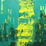 Edyta Dzierż, Światło 1, akry na płótnie, 50 x 60 cm, 2015