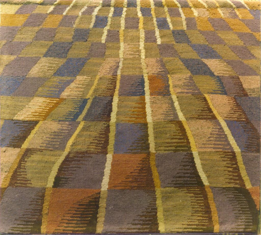 """Pola lawendowe"" (155x160 cm), 1960"