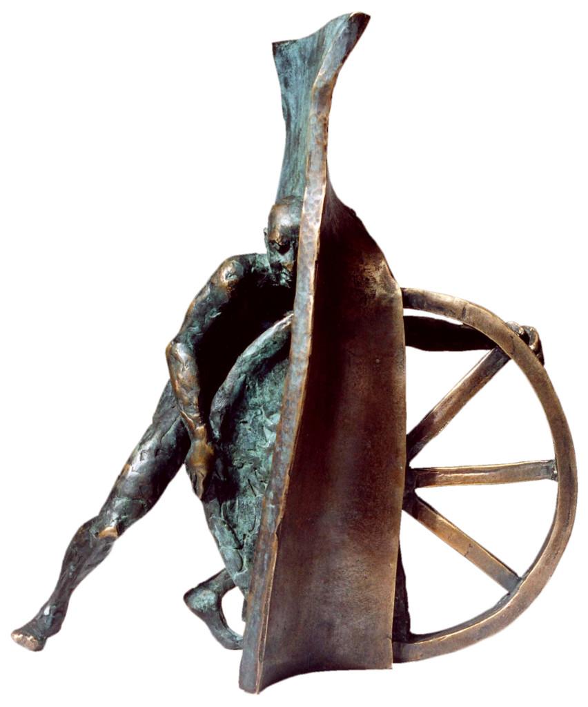 Bariery III, brąz, 2001