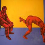 Komisja, 120x160, tempera i olej