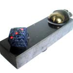 Loteria (granit, sjenit, brąz), dług.40cm