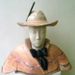 Portret młodzieńca (marmur, serpentynit), wys.36cm