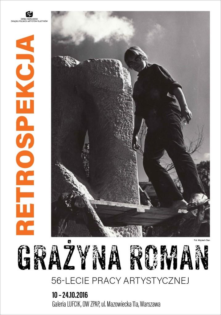 plakat-grazyna-roman