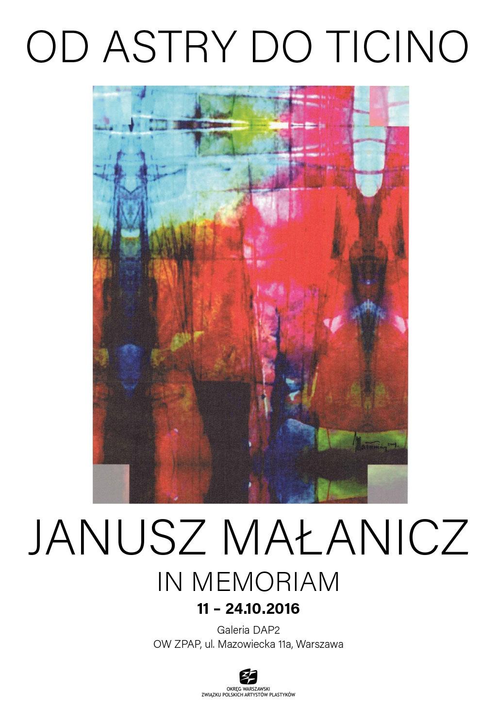 plakat-janusz-malanicz
