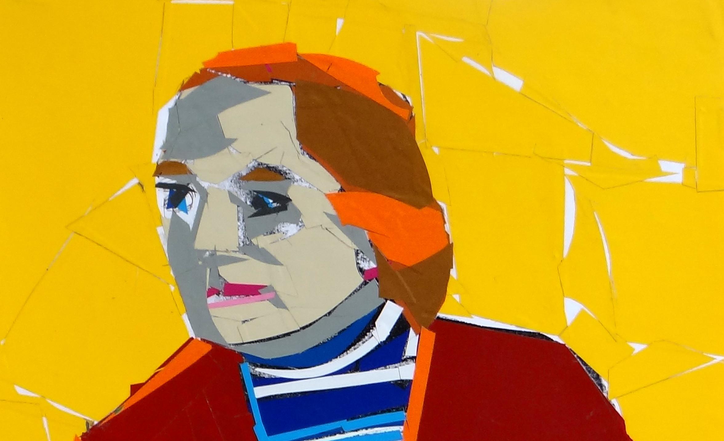Jerzy Swiątkowski Jury Zieliński 40x30 kolaż 2010