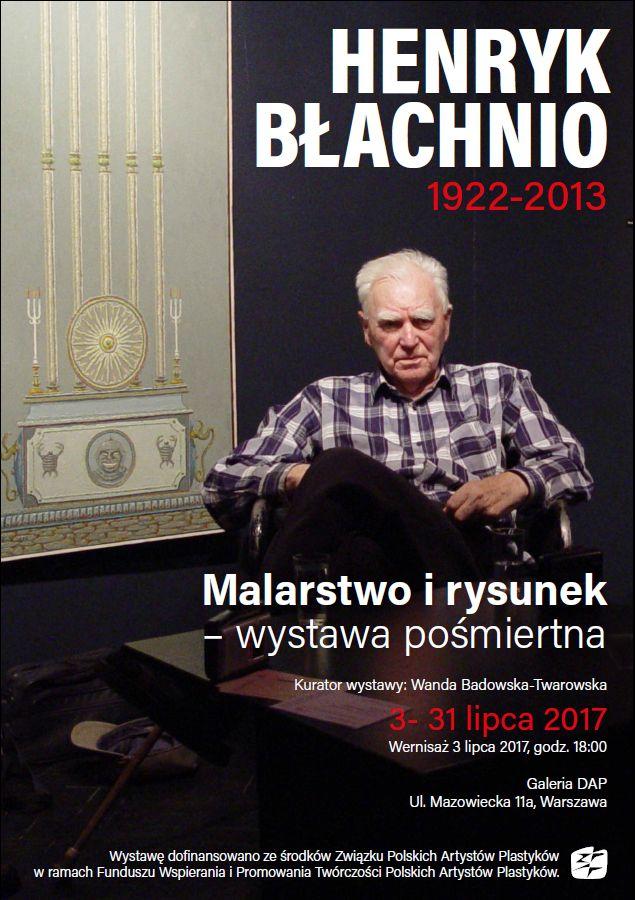 plakat Henryk Blachnio jpg