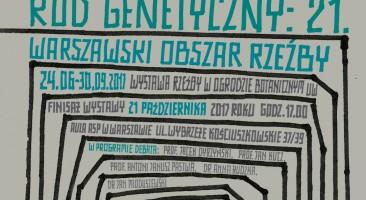 """Finisaz wystawy """"Kod Genetyczny: 21"""" i debata o przyszlosci rzeźby"""