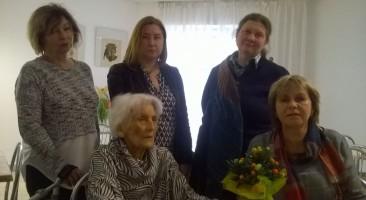 97 urodziny Danuty Jaworskiej-Thomas