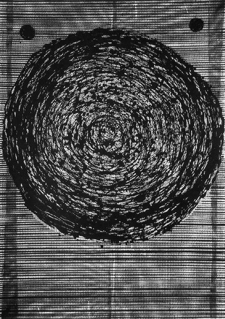 Kłe8buszek, serigrafia, 100x70 cm, 2017