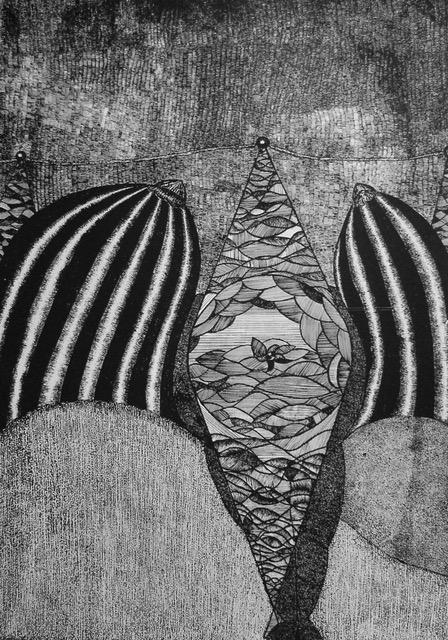 Miedzy.cycami.serigrafia100x70cm.2012