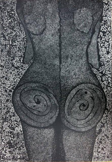 PO...s´lady, serigrafia, 100x70 cm 2016.