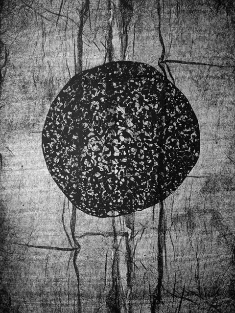 kula.szpiegula. serigrafia, 100x70 cm. 2015.