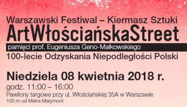 """Warszawski Festiwal Sztuki """"ArtWłościańskaStreet"""""""