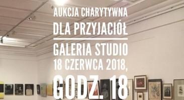Aukcja charytatywna w Galerii Studio