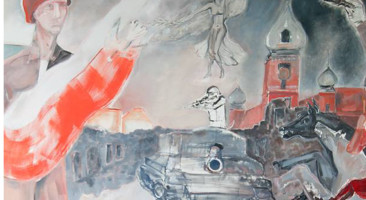 """Larysa Jaromska """"Hymn o Warszawie"""" w Galerii im. Bolesława Biegasa Ciechanowie"""