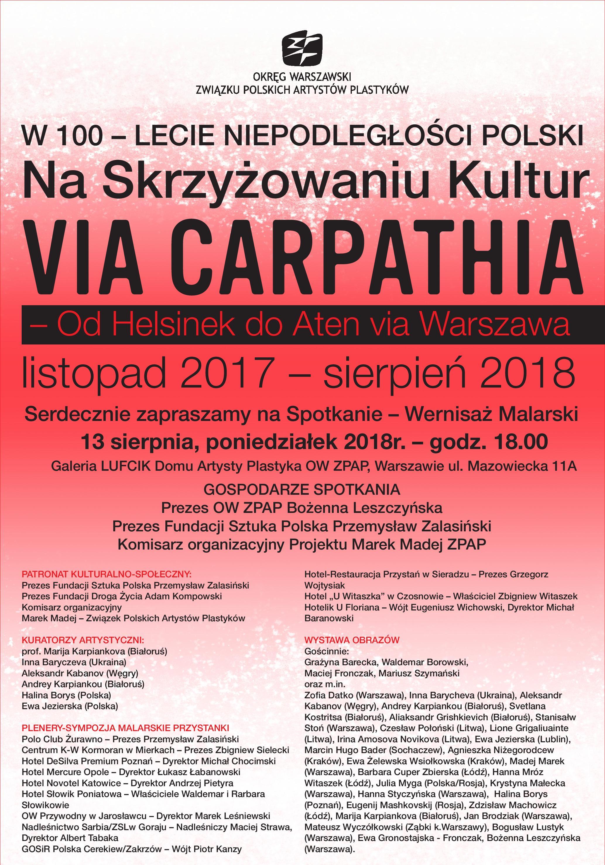 ViaCarpathia 2018