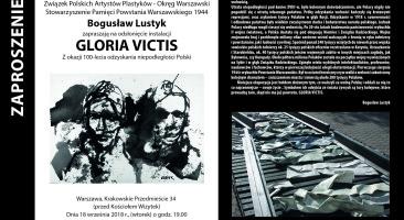 """Otwarcie instalacji """"Katyń"""" Bogusława Lustyka 18 września"""