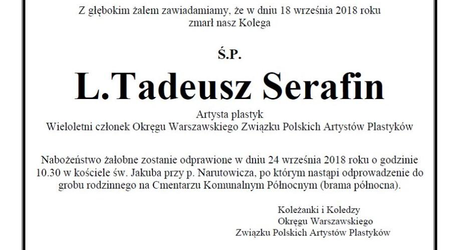 Nekrolog L. Tadeusz Serafin