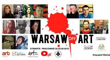 WARSAW OFF ART – Otwarte Pracownie 22-23.09.2018r