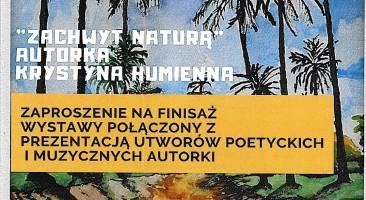 """Wystawa Krystyny Humiennej w Bibliotece """"Przystanek Książka"""" w Warszawie"""