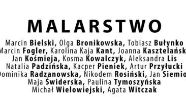 Wystawa studentów i absolwentów Pracowni Światło i Kolor prof. Apoloniusza Węgłowskiego