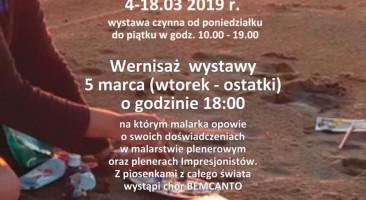 """Wystawa Joanny Koreckiej """"W plenerze"""""""