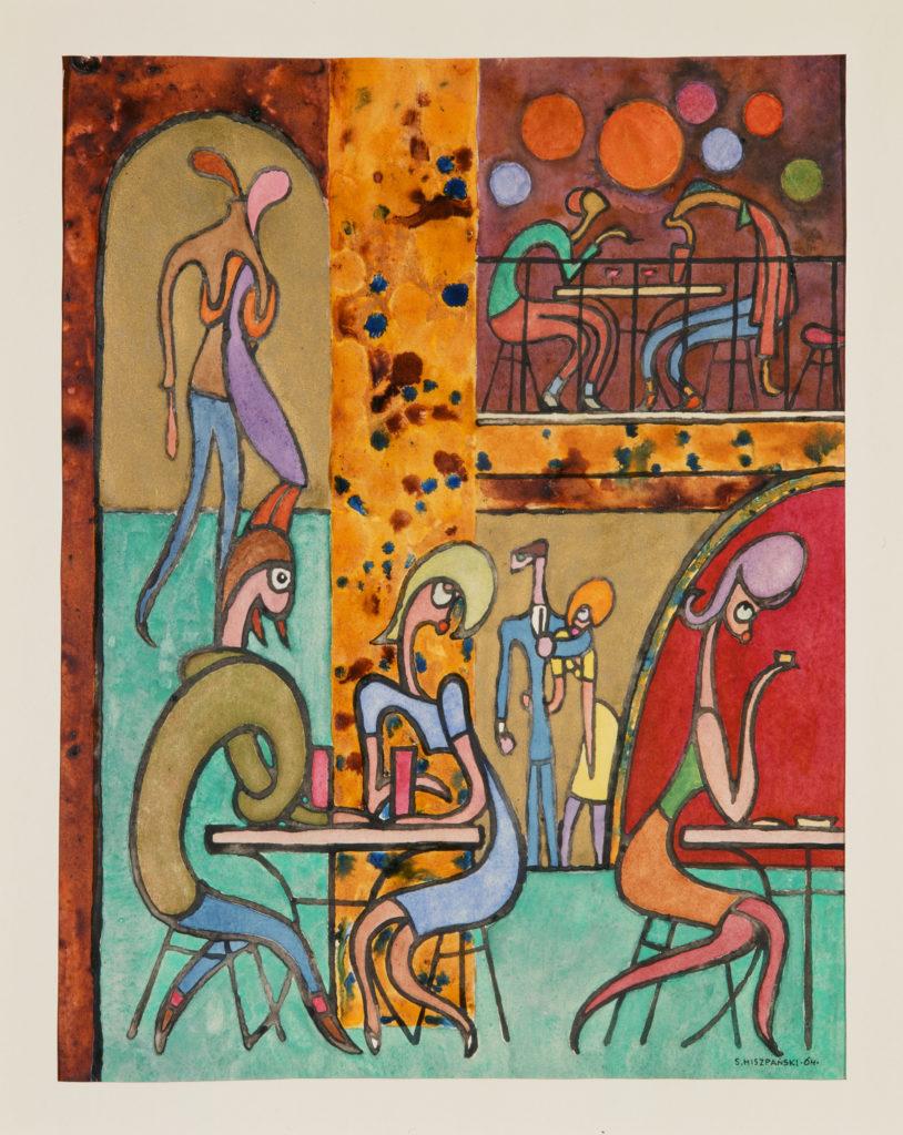 W kawiarni, 1964