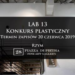 Lab 13, Konkurs plastyczny