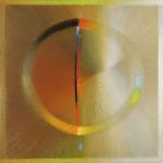 Jeden dzień, olej na płótnie, 120x120, 2014