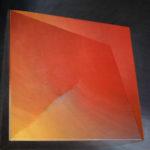 Czerwone słońce, olej na płótnie, 100x100, 2010