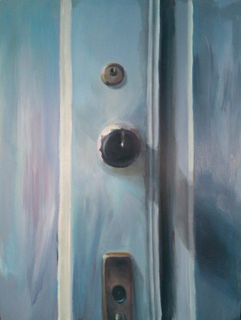 DRZWI, 78x103 cm, malarstwo olejne, 2014