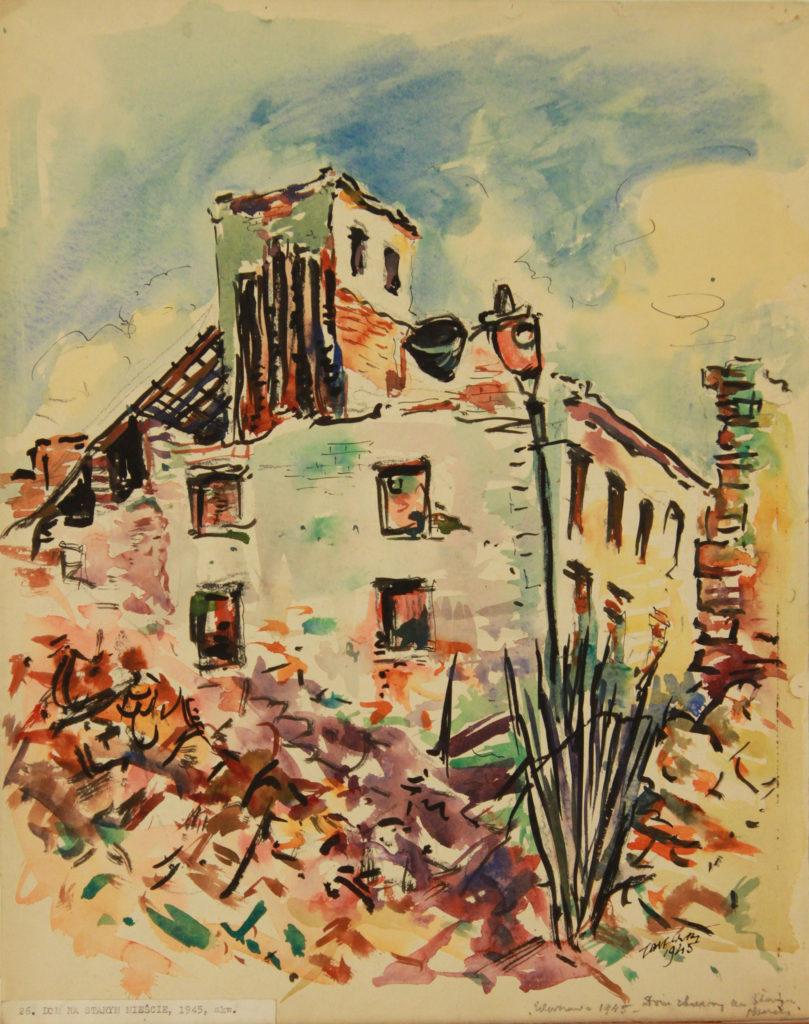 Dom na Starym Mieście, 1945
