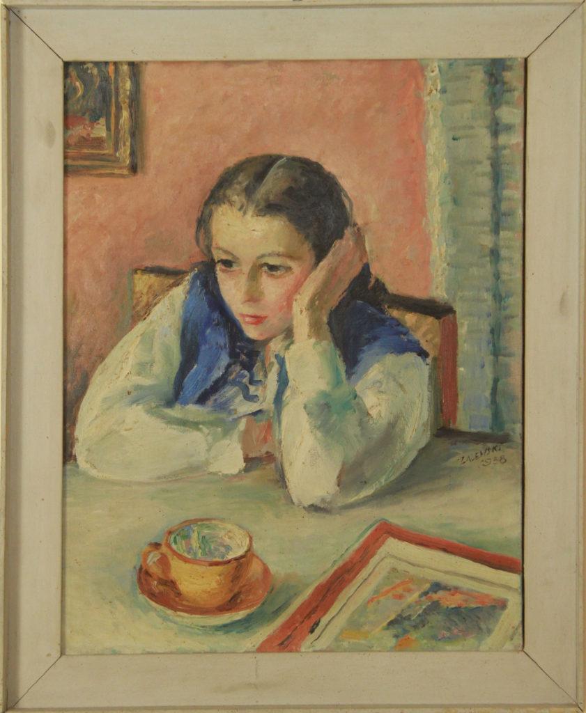 Portret córki, 1938
