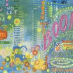 """Ilustracja """"Chicago"""" do książki Marii Szypowskiej """"Panie Janie niech pan wstanie"""""""