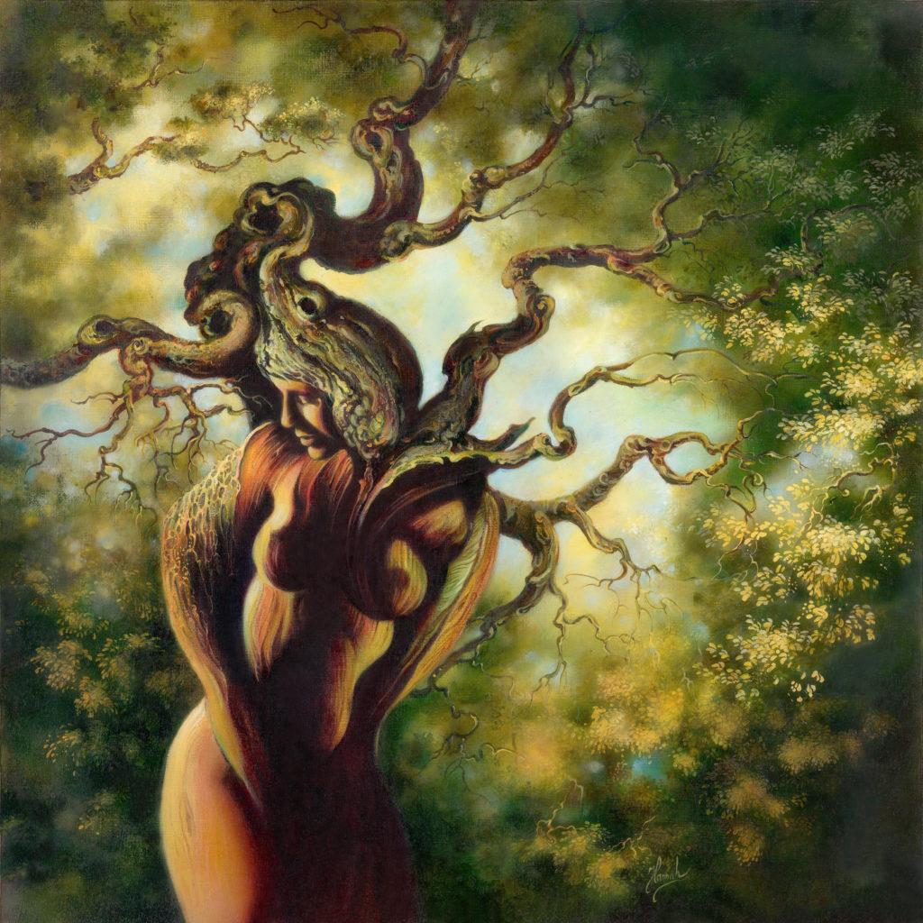 Drzewo olej 40x40