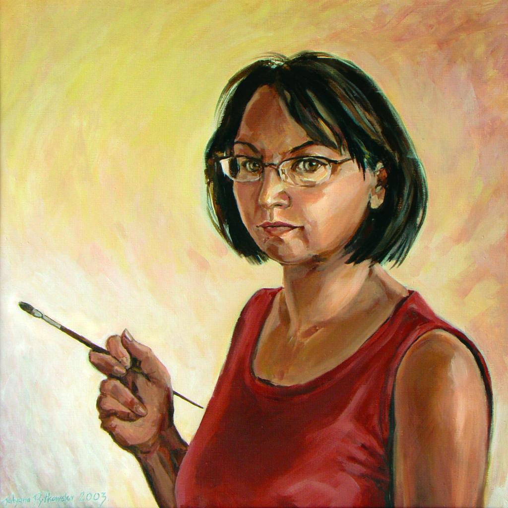 Autoportret 60x60-2003
