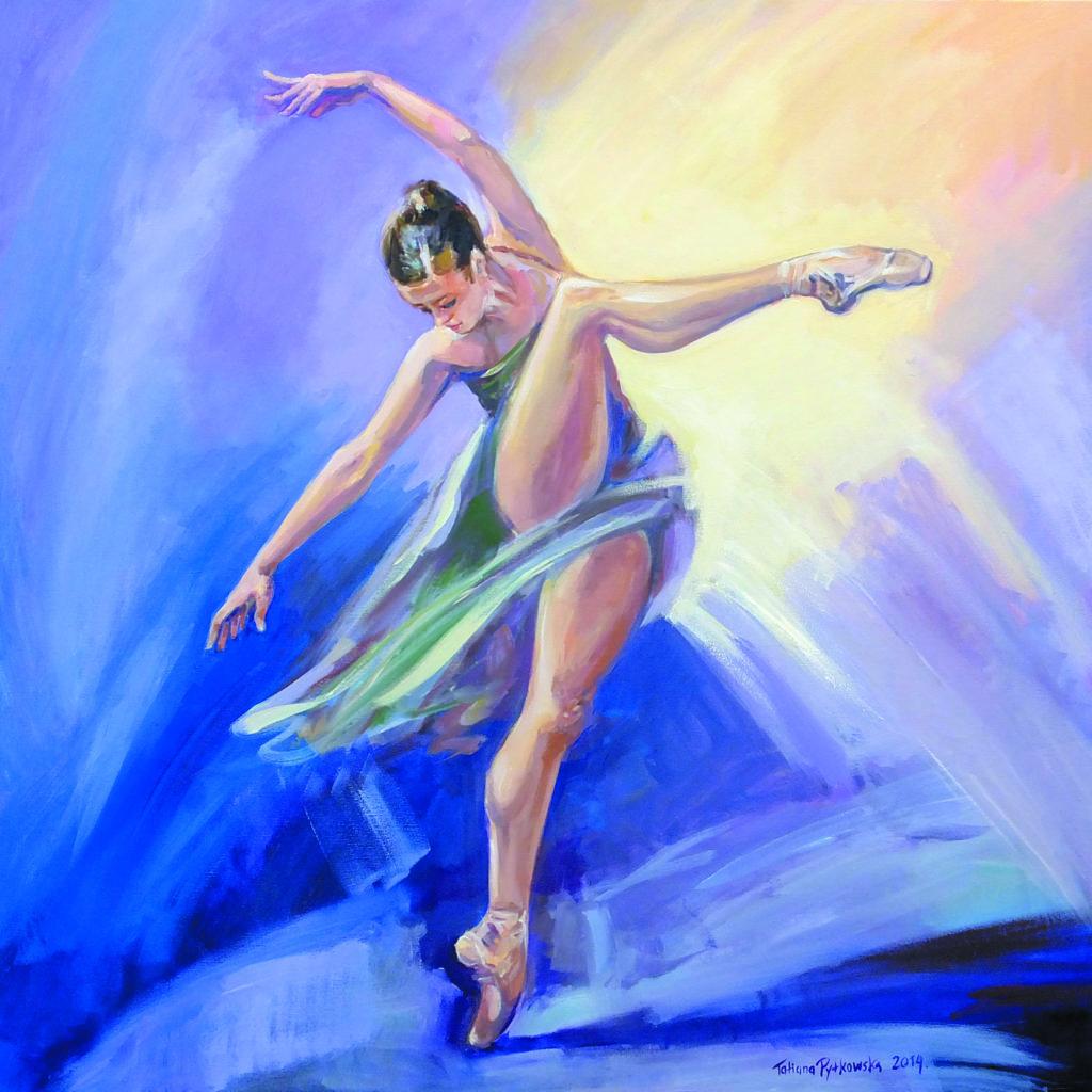 Balet nowoczesny 90x90-2014