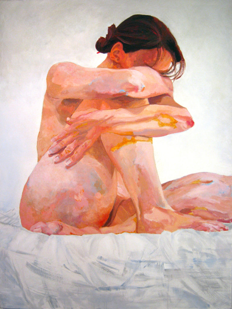 Obraz VIII, akryl na płótnie, 160x120, 2010