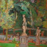 Ogród Oranżerii w Łazienkach