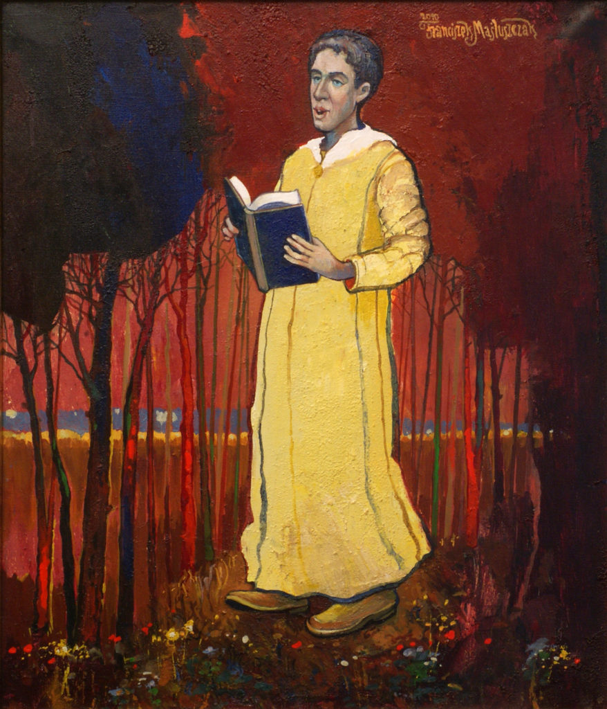 Poeta, 70x60 cm, akryl, 2010