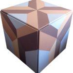 Cube z krzyżem - widok z góry