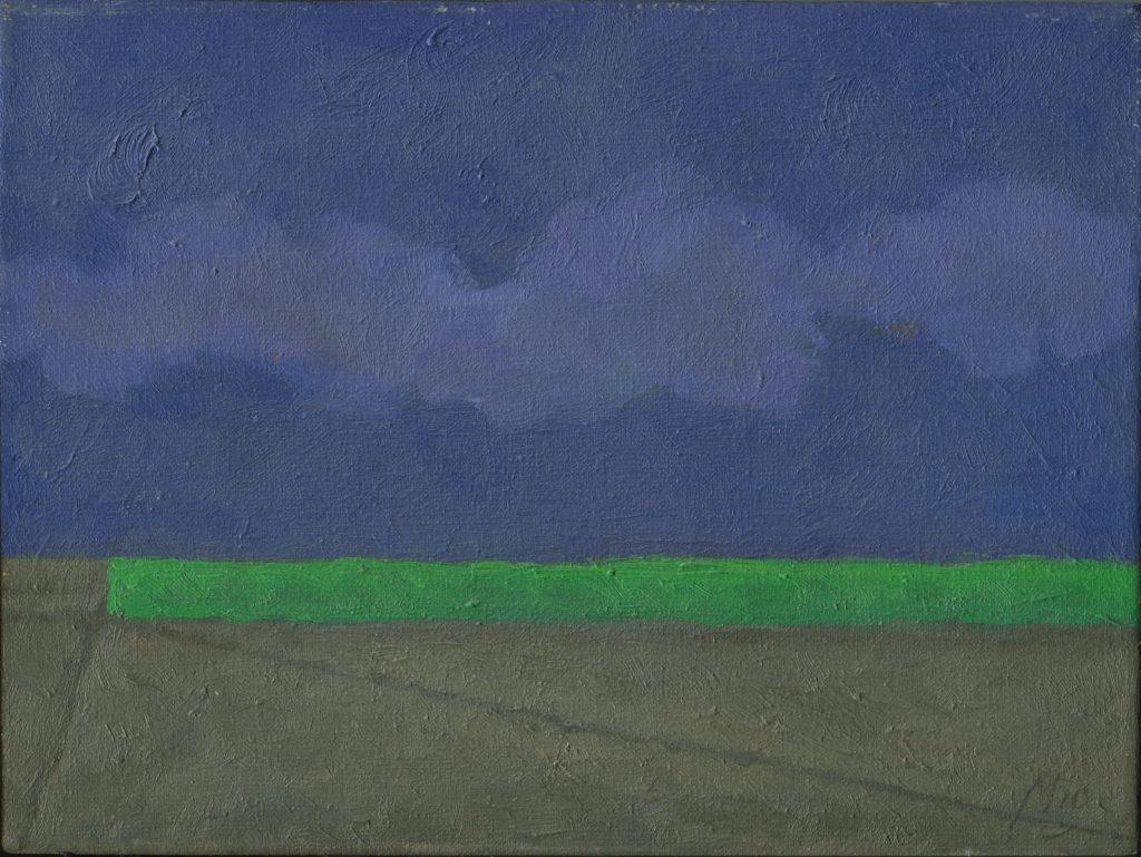 Jesień, olej, 18x24, 2010r.